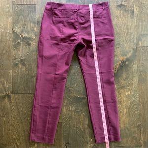 Express Pants - Express Columnist Pants in Plum